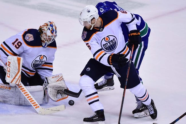 NHL | Vancouver Canucks (17-18-4) at Edmonton Oilers (18-15-3)
