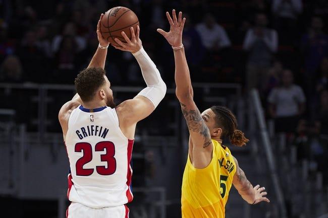 NBA   Detroit Pistons (16-18) at Milwaukee Bucks (25-10)