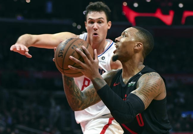 NBA | Portland Trail Blazers at L.A. Clippers