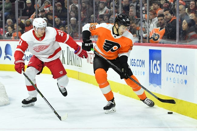 NHL | Detroit Red Wings at Philadelphia Flyers
