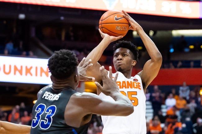 NCAA BB   Arkansas State Red Wolves (5-6) at Syracuse Orange (7-4)