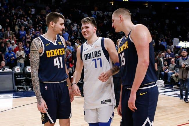 NBA   Denver Nuggets at Dallas Mavericks