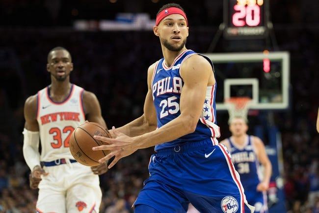 NBA | Philadelphia 76ers at New York Knicks