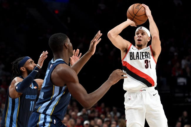 NBA | Portland Trail Blazers at Memphis Grizzlies