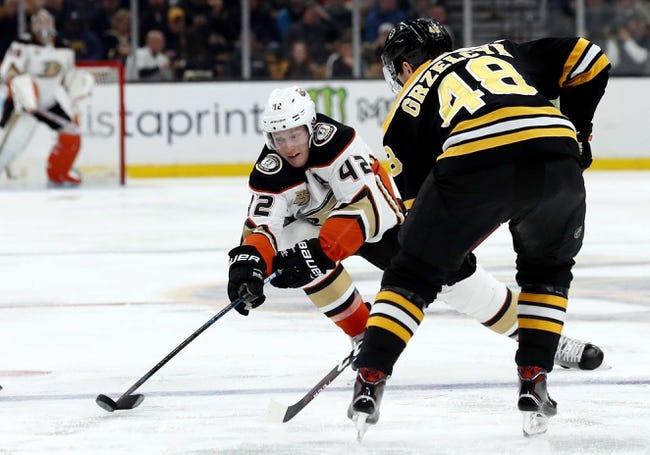 NHL   Boston Bruins at Anaheim Ducks