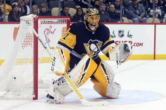 NHL | Pittsburgh Penguins (20-12-6) at Minnesota Wild (18-16-3)