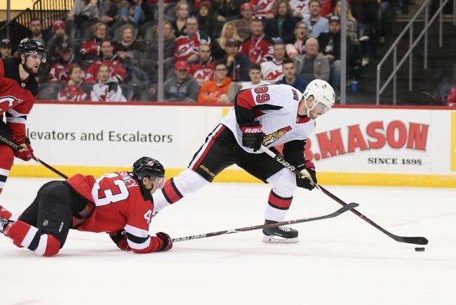 NHL | Ottawa Senators at New Jersey Devils