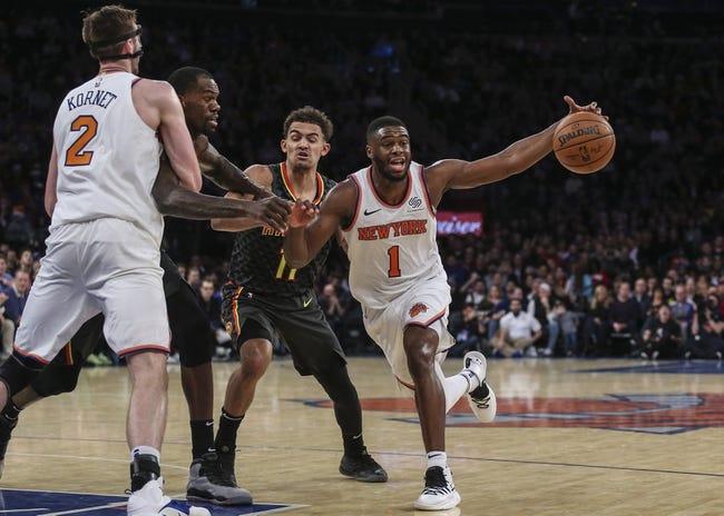 NBA | New York Knicks at Atlanta Hawks