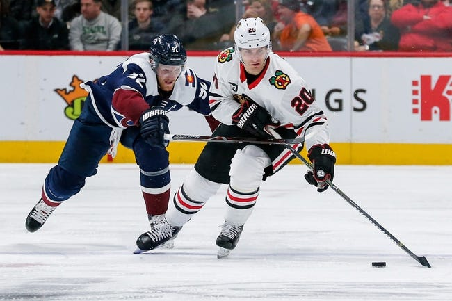 NHL | Chicago Blackhawks (14-20-6) at Colorado Avalanche (19-13-6)