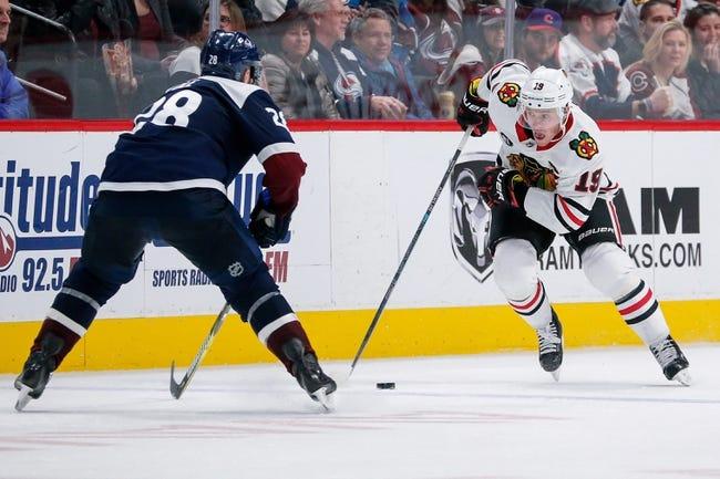 NHL | Colorado Avalanche at Chicago Blackhawks