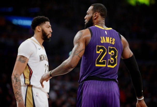 NBA | L.A. Lakers at New Orleans Pelicans