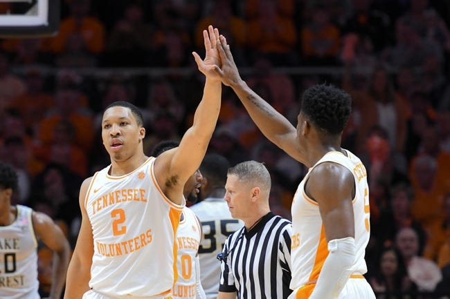 NCAA BB | Tennessee Tech Golden Eagles (4-8) at Tennessee Volunteers (10-1)