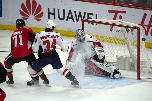 NHL   Washington Capitals (23-10-3) at Ottawa Senators (15-19-4)