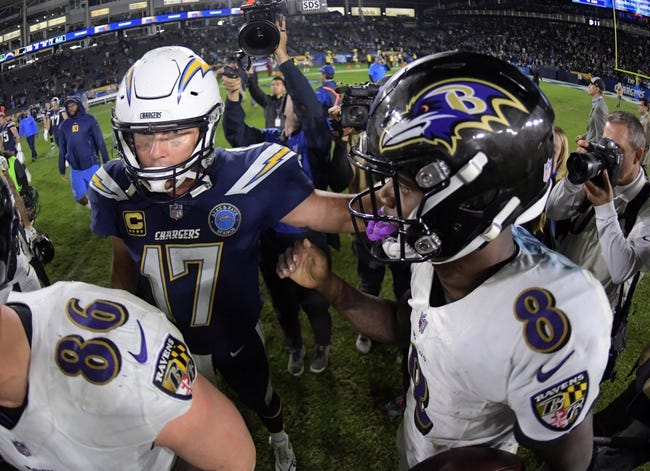 NFL | Los Angeles Chargers (12-4) at Baltimore Ravens (10-6)