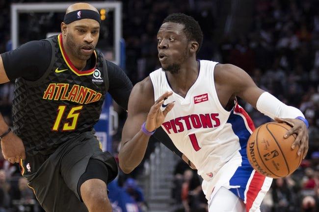 NBA | Detroit Pistons at Atlanta Hawks