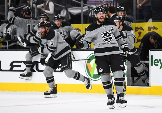 NHL | Vegas Golden Knights (21-15-4) at Los Angeles Kings (15-20-3)