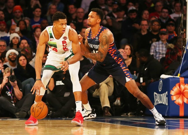 NBA | New York Knicks (9-26) at Milwaukee Bucks (23-10)