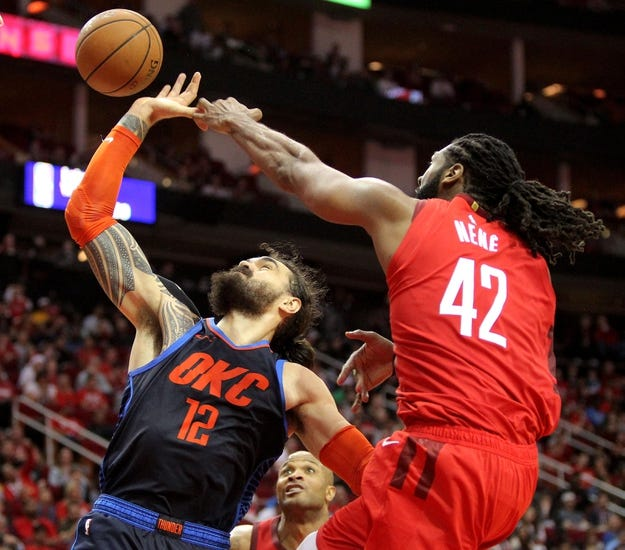 Houston Rockets Vs Okc: Houston Rockets Vs. Oklahoma City Thunder