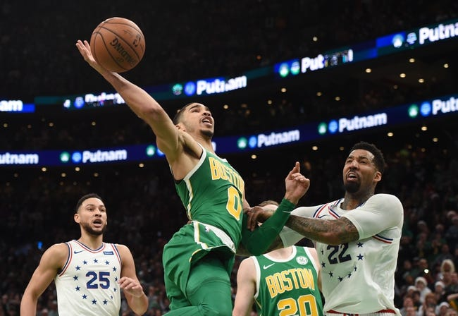 NBA | Boston Celtics at Philadelphia 76ers