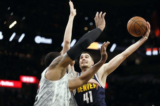 NBA | San Antonio Spurs (19-16) at Denver Nuggets (21-11)