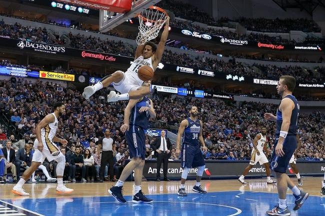 NBA   Dallas Mavericks (16-17) at New Orleans Pelicans (15-20)