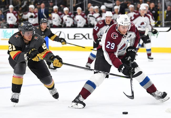 NHL | Vegas Golden Knights at Colorado Avalanche