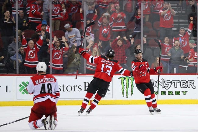 New Jersey Devils vs. Carolina Hurricanes - 2 10 19 NHL Pick 808b186b9