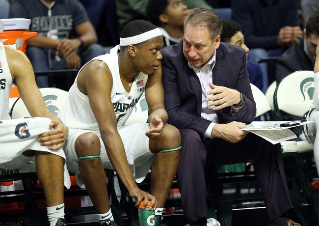 NCAA BB | Northwestern Wildcats (9-4) at Michigan State Spartans (11-2)
