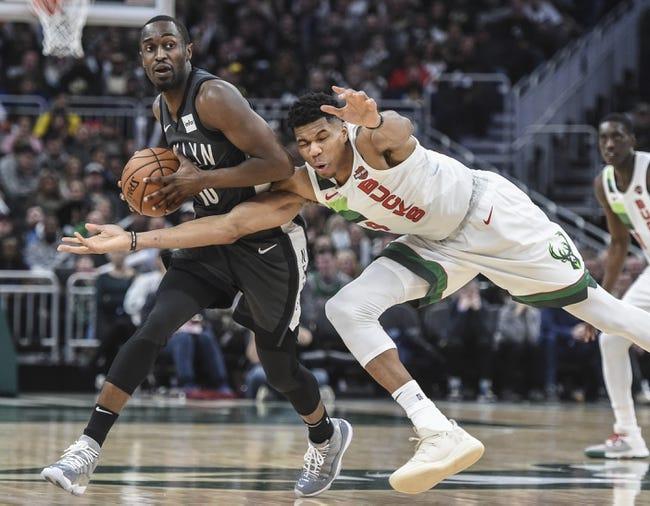NBA | Milwaukee Bucks at Brooklyn Nets