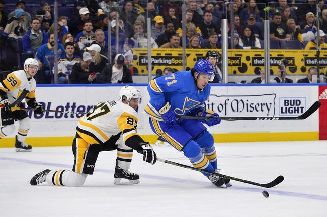 NHL | St. Louis Blues at Pittsburgh Penguins