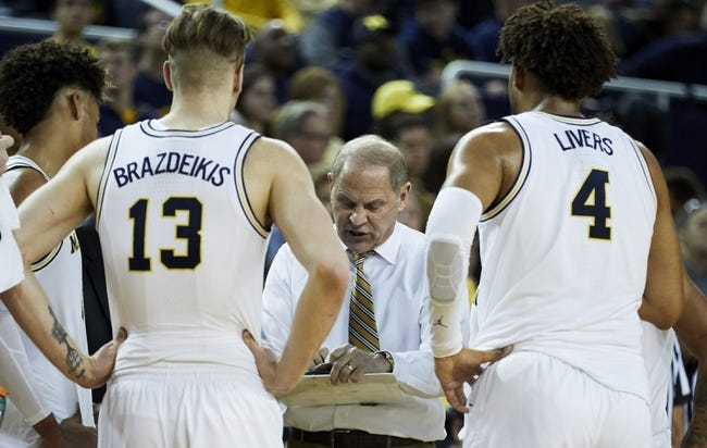 NCAA BB | Penn State Nittany Lions (7-6) at Michigan Wolverines (13-0)