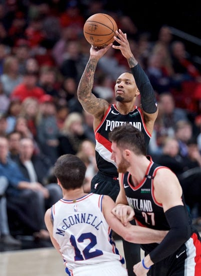 NBA | Portland Trail Blazers at Philadelphia 76ers