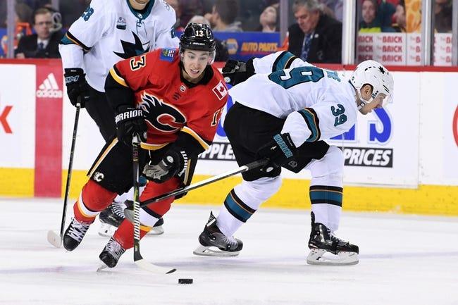 NHL | San Jose Sharks at Calgary Flames