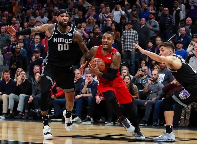 NBA   Portland Trail Blazers at Sacramento Kings