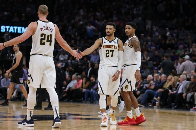 NBA   Sacramento Kings at Denver Nuggets