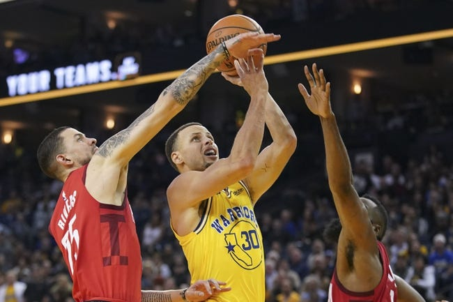 NBA | Houston Rockets at Golden State Warriors
