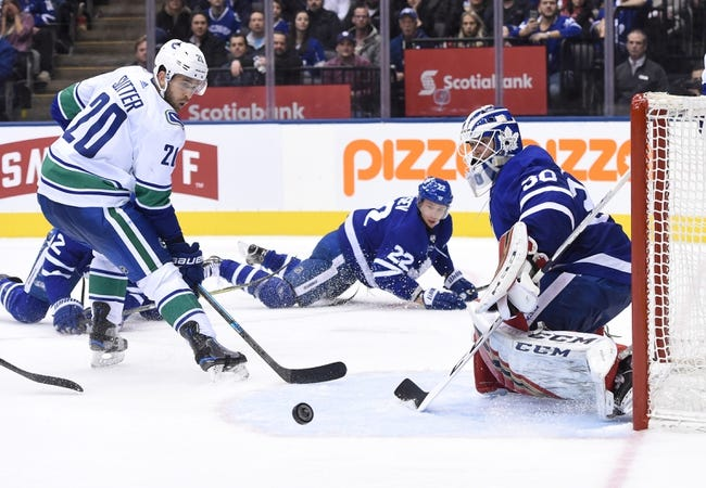 NHL | Toronto Maple Leafs at Vancouver Canucks
