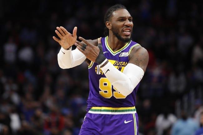 NBA | Detroit Pistons at Utah Jazz