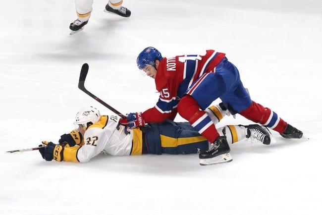 NHL   Montreal Canadiens at Nashville Predators