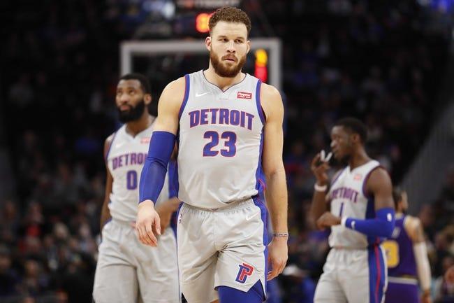 NBA | San Antonio Spurs at Detroit Pistons