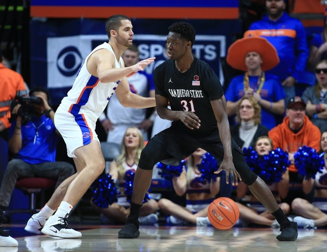 NCAA BB | Boise State at San Diego State