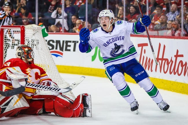 NHL   Calgary Flames at Vancouver Canucks