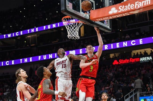 NBA   Atlanta Hawks at Miami Heat