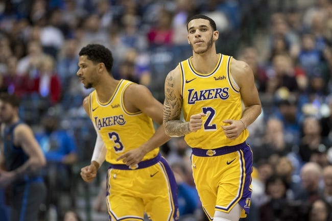 NBA | Detroit Pistons at L.A. Lakers