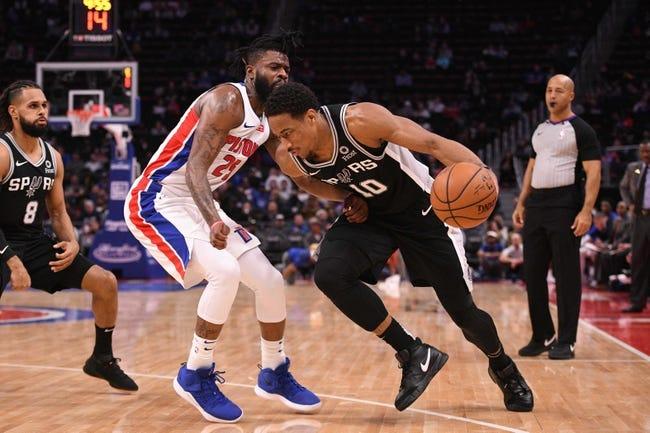 NBA | Detroit Pistons at San Antonio Spurs