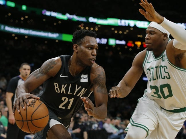 50c171261 Brooklyn Nets vs. Boston Celtics - 1 14 19 NBA Pick
