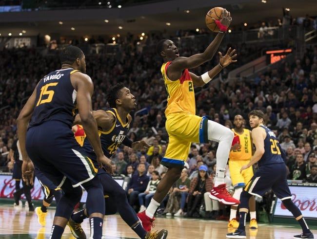 NBA   Milwaukee Bucks at Utah Jazz
