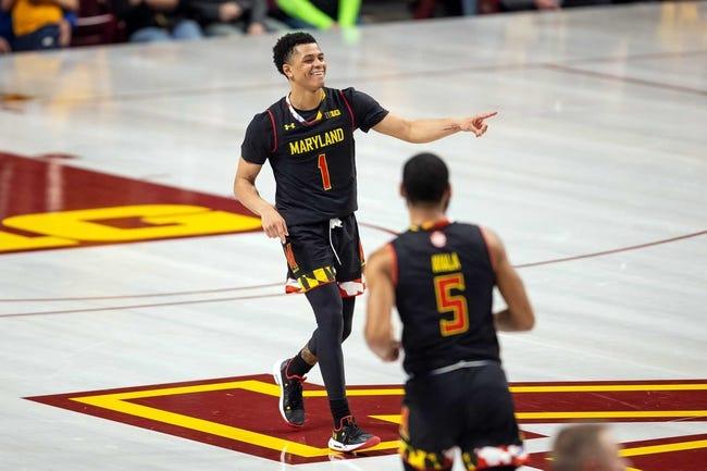 NCAA BB   Indiana at Maryland