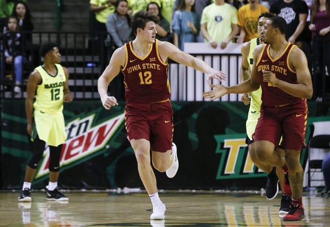 NCAA BB | Baylor at Iowa State