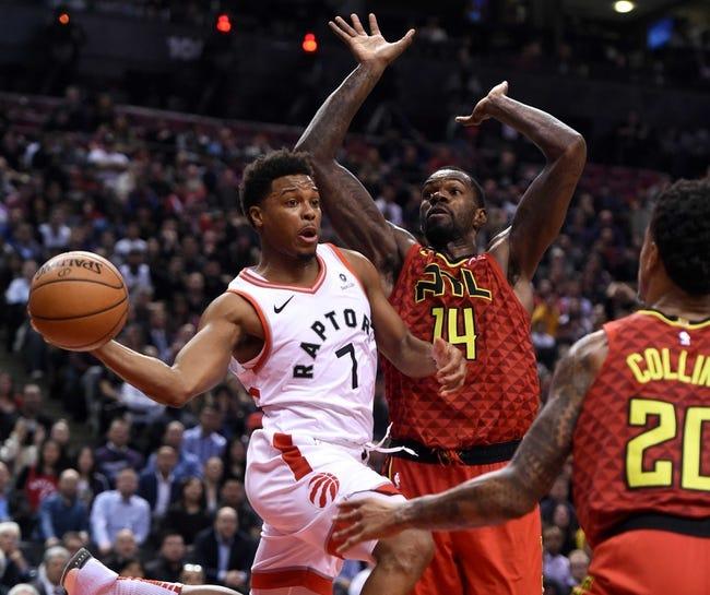 NBA | Toronto Raptors at Atlanta Hawks